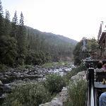balcony outside dining of restaurant