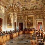 Cagliari province assembly room