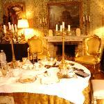 Breakfast in the Napoleone Suite