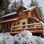 La Cabaña Morro, después de una linda nevada!!