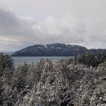 La Isla Huemul, desde las Cabañas Superiores