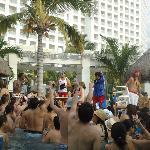 Animación en la piscina