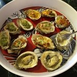 this is the sample oyster platter!! AWESOME!