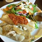 Tarragon Chicken & Italian Crepe