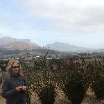 View over Franschhoek valley