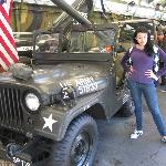 Lovely young women like military Jeeps