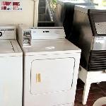 Washer/dryer, ice machine