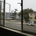 vue de la chambre sur 3rd street