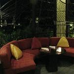 Seating in Reception & The Terrace Restaurant