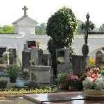 part of the cemetery