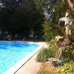 Pool at the Wayside Inn Newport