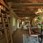 Villa - La Grange - Library (villa has 3 bedrooms)
