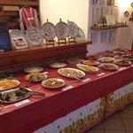 Tavolo del buffet - anche per asporto