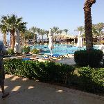 pool was beautiful