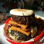 The Titanic burger