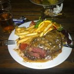 $22 steak