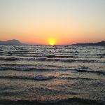 Prachtige zonsondergang meegemaakt.