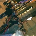 The Queue – Their daft idea of a reservation.