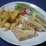 Toasties and chips