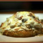 rosti poulet champignon