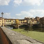 walking from La Luna to Ponte Veccio