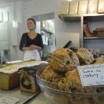 Fresh made scones