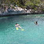 Snorkeling at Mystery Cave