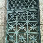 Interesting copper gate at the top of the Memorial.