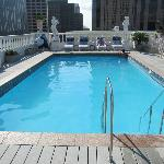 Le Pavillon Hotel Rooftop Pool