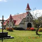catholic church a short walk away