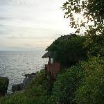 Vista dal bungalow ocean view