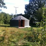 our yurt!