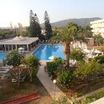 view of pool from room 255