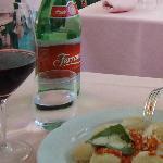 Il vino Capri e ancora i ravioli