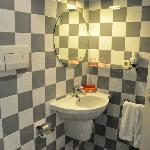 Vista baño habitación 213