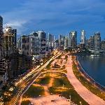 Cinta Costera - Vista Nocturna de Ciudad de Panamá