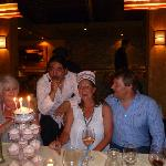 Birthday celebrations at Marabini's