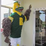 Ellsworth was our guest for The College at Brockport Homecoming weekend