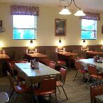Our dining room is always clean and ready for you!