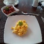 El desayuno fue excelente