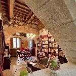 Salón-biblioteca