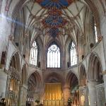 Tewkesbury Abbey inside