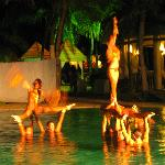 Entertainment at main resort was great!