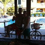 Me & Dors Pool !