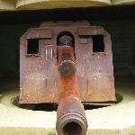 Pieza de artilleria alemana