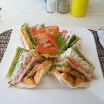 Chicken Club Sandwich YUMMIE !