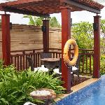 Gazebo beside Pool