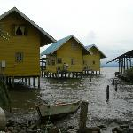 Some of the cabins of Bahia Del Sol