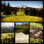 Jack Nicklaus signature mountain golf course at Moonlight Basin Montana resort