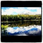 Fly fishing at Moonlight Basin Montana Resort by Yellowstone National Park